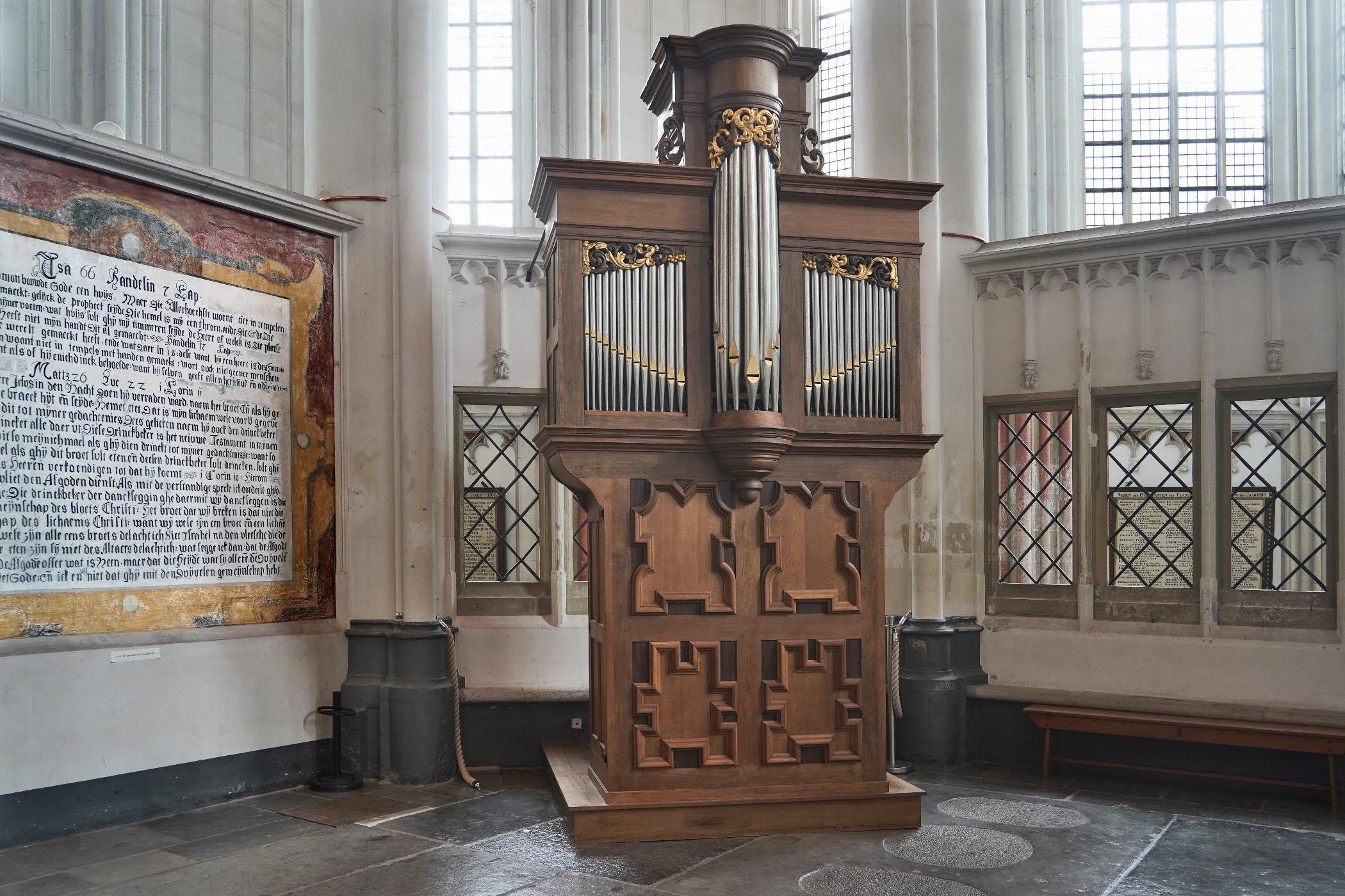 Ardennen-orgel in de Stevenskerk