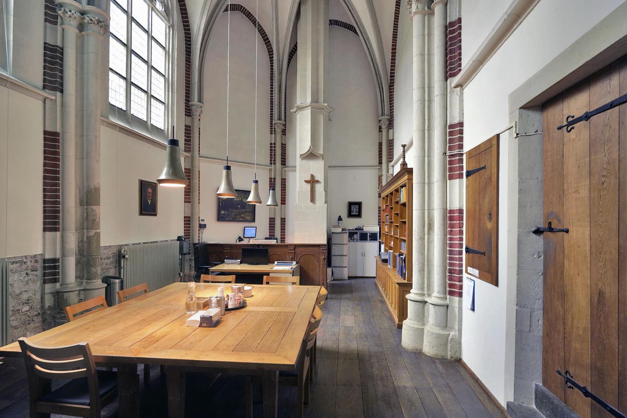 Gerfkamer Stevenskerk gezien vanaf de deur
